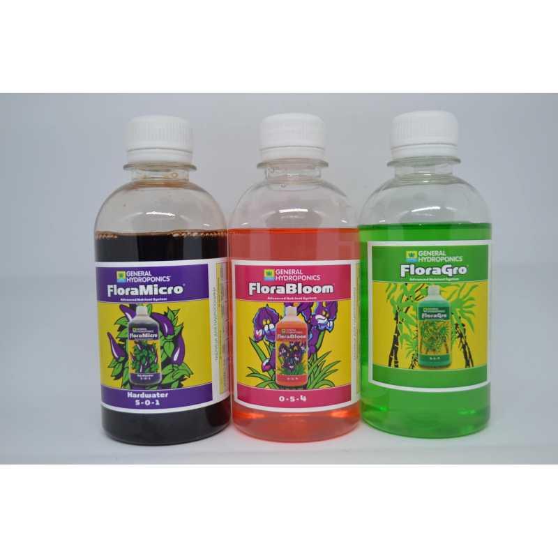 Комплект Flora Series HW 3*100/3*250 ml Удобрения